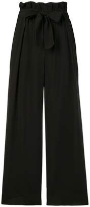 Forte Forte belted wide-legged trousers