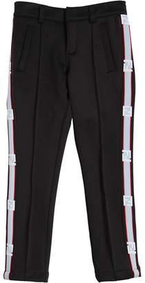 Fendi Logo Band Cotton Pants