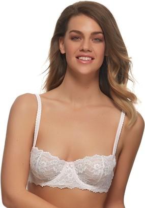 Jezebel Bras: Harlow Unlined Lace Demi Bra 5894