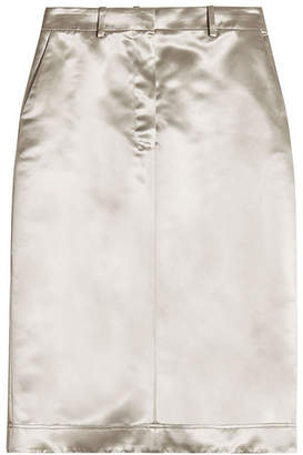 Calvin Klein Satin Skirt