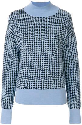 Marni patterned turtleneck sweater