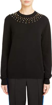 Givenchy Studded Wool & Cashmere Sweater