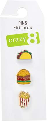 Crazy 8 Crazy8 Food Pins 3-Pack
