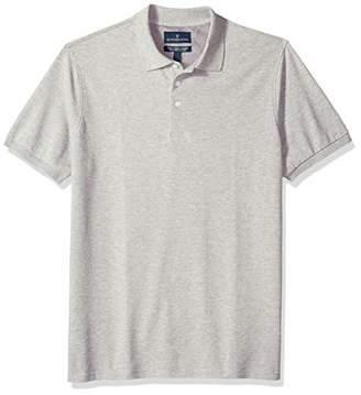 Buttoned Down Men's Classic-Fit Supima Cotton Stretch Pique Polo Shirt