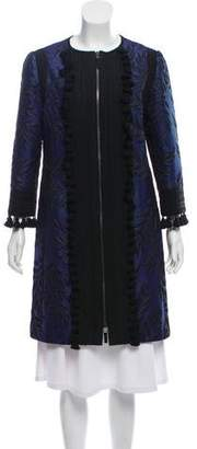 Andrew Gn Embellished Collarless Jacket