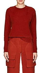 Freddy Sies Marjan Women's Velvet Sweater-Rust