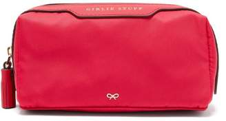 Anya Hindmarch Girlie Stuff Nylon Pouch - Womens - Pink