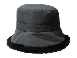 Scala Packable Cloche w/ Faux Fur