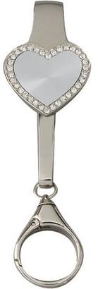clear Leeber Crystal Key Chain with Key Finder