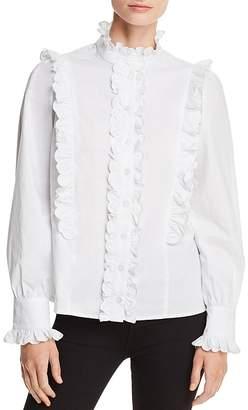 Aqua Victorian Ruffled Shirt - 100% Exclusive