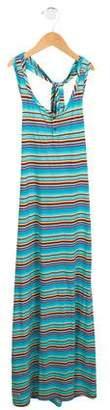 Ralph Lauren Girls' Striped Maxi Dress