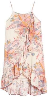 Ppla Zinnia Floral Ruffle Sundress