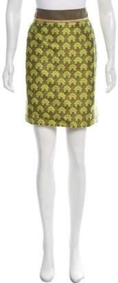 Alberta Ferretti Patterned Knee-Length Skirt
