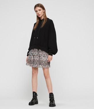 AllSaints Sanse Sketch Skirt