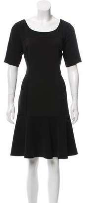 Laundry by Shelli Segal Fluted A-Line Dress