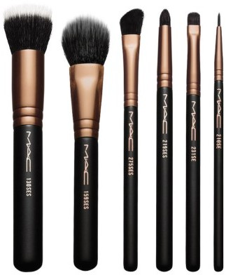 MAC Look In A Box Advanced Travel Brush Kit $49.50 thestylecure.com
