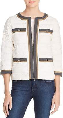 Herno Nuage Contrast Trim Puffer Jacket