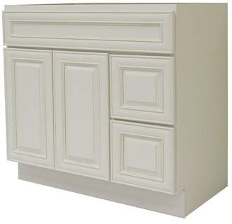 "NGY Stone & Cabinet Cabinet 42"" Single Bathroom Vanity Base Only"