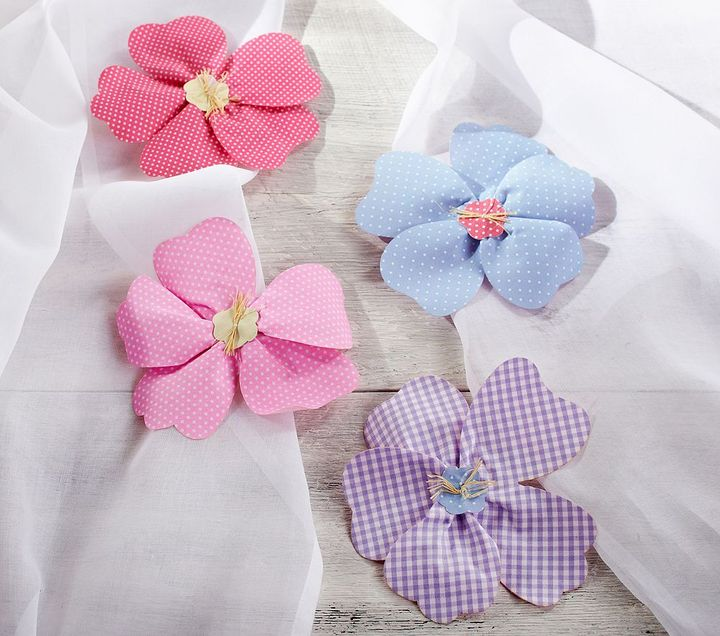 Pottery Barn Kids Hibiscus Clip-ons