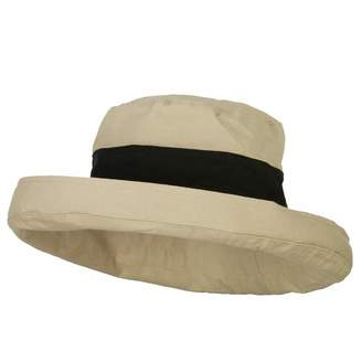 95b337bfa78fb Jeanne Simmons Women s Canvas Crushable Roll Up Hat - OSFM