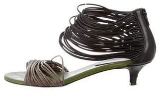 Bottega Veneta Leather Open-Toe Sandals