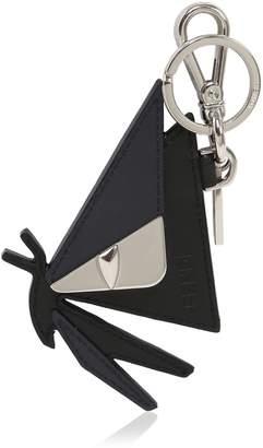 Fendi Monster Butterfly Leather Keychain