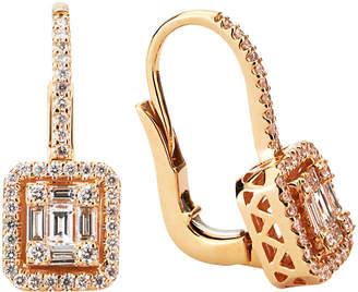 LeVian Suzy Diamonds Suzy 18K Rose Gold 0.86 Ct. Tw. Diamond Earrings