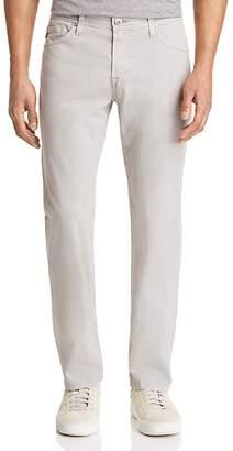 AG Jeans Graduate Slim Straight Jeans in Sulfur Pebble Beach