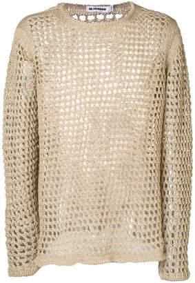 Jil Sander open stitch jumper
