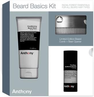 Anthony Logistics For Men Beard Basics Grooming Kit