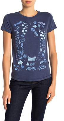 Lucky Brand Flowers Graphic T-shirt