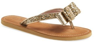 Women's Kate Spade New York 'Icarda' Glitter Flip Flop