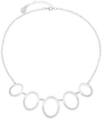Liz Claiborne Womens Oval Choker Necklace