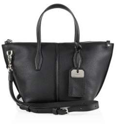 Tod's Joy Mini Leather Zip Satchel