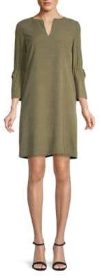 Lafayette 148 New York Deandra Quarter-Sleeve Silk Dress