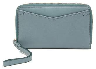 Fossil Caroline Leather Phone Wristlet - RFID Protection