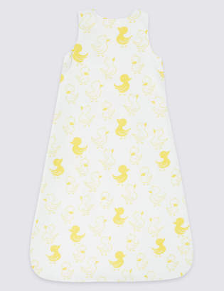 Marks and Spencer Organic Cotton 1 Tog Sleeping Bag