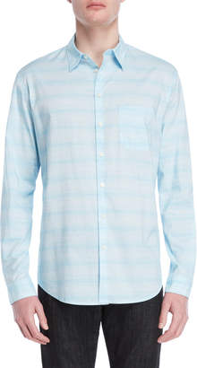 DKNY Space Dye Stripe Shirt