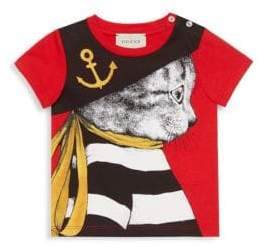 Gucci Baby Boy's Pirate Feline Tee