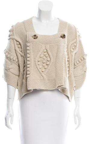 Stella McCartneyStella McCartney Wool Knit Cardigan