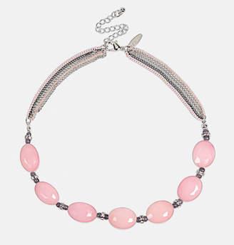 Avenue Short Blush Necklace