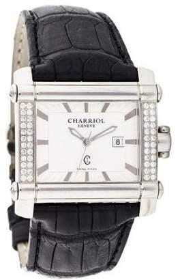 Charriol Actor Rectangular Watch