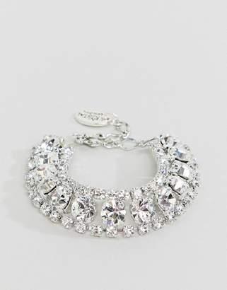 Swarovski Krystal London chunky statement bracelet