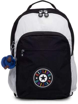 Kipling Seoul Colourblock Nylon Laptop Backpack
