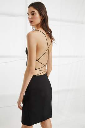French Connection Santorini Drape Jersey Strappy Dress