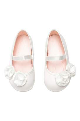 H&M Ballet Flats - White/satin - Kids