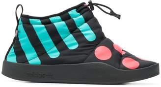 adidas slip-on printed boots