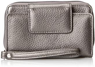 Buxton Women's RFID Cell Phone Wristlet Wallet
