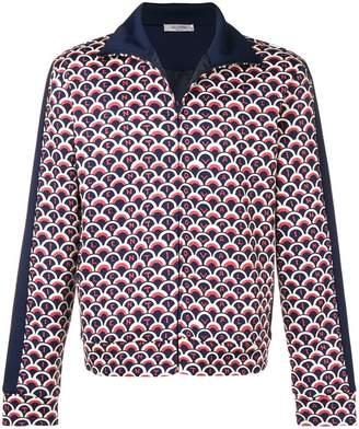 Valentino logo scalloped jacket