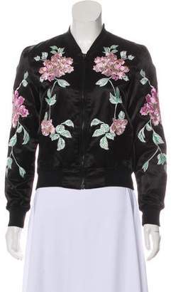 3x1 Embroidered Bomber Jacket w/ Tags